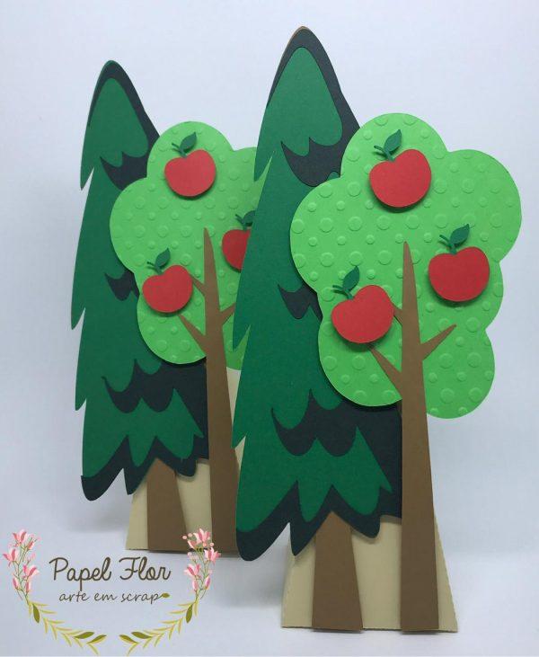Caixa árvores floresta_Papel Flor
