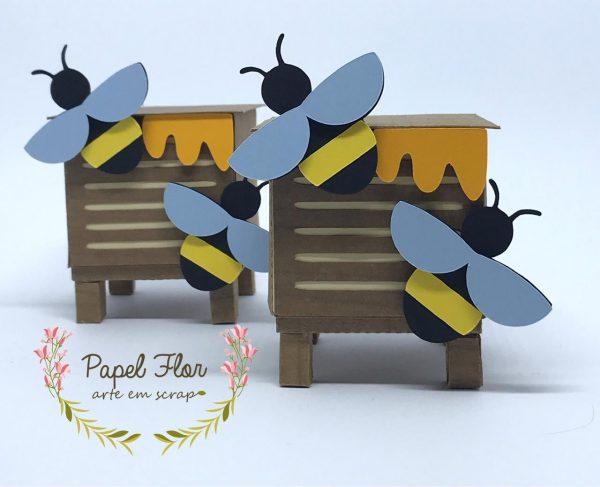 Caixa abelhas_Papel Flor