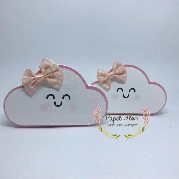 Caixa nuvem chuva de amor_Papel Flor