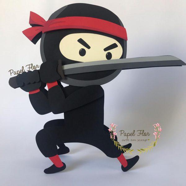 Totem ninja_Papel Flor