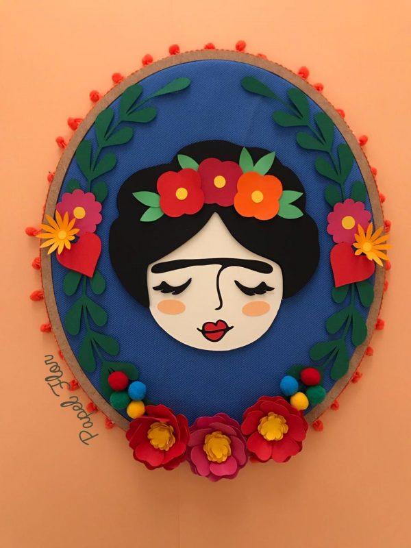Bastidor Frida_Papel FLOR
