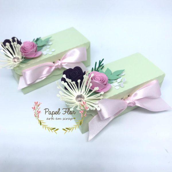 Caixa para bombons_Jardim Papel Flor