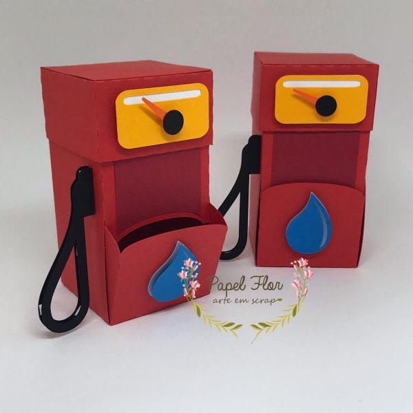 Caixa bomba combustível Carro_ Papel FLor